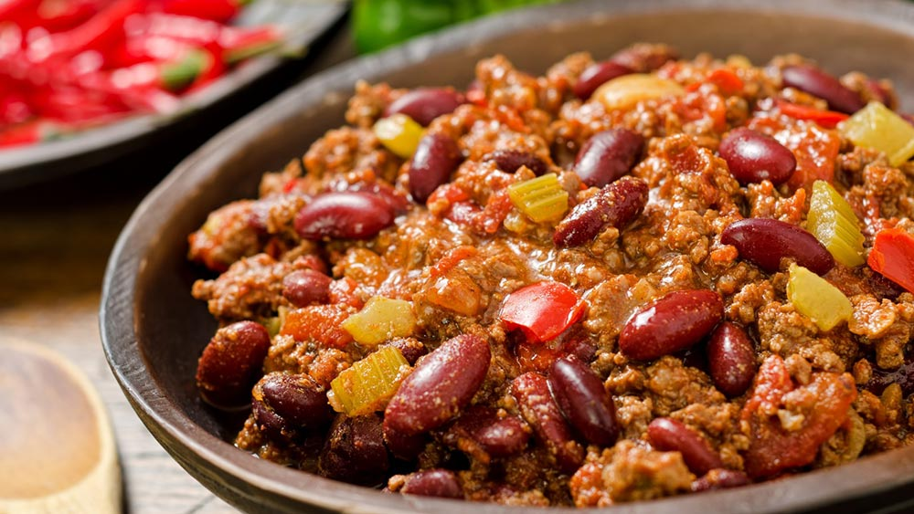 chilli, ricetta chilli, chilli speziato, ricetta chilli con salsa Jack Daniel's, salsa Jack Daniel's